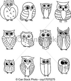 Cartoon owls and owlets - animals characters owl crafts, doodle art, bird doodle, Easy Drawings, Owl Drawings, Cartoon Owl Drawing, Cartoon Cartoon, Cute Owl Drawing, Cute Owl Cartoon, Easy Cartoon, Simple Owl Drawing, Drawing Cartoon Animals