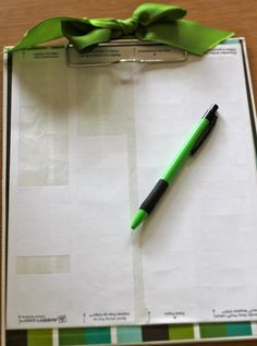 Running records - use address labels, clipboard, and large index cards. Write your notes on the address labels as you walk around and observe. Later, stick them onto the child's index card. Quick and easy! Then, during parent/teacher conferences, just pull out the notecard and share your observations.