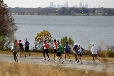 Runners at White Rock Lake can meet up with friends, then focus on the scenic vistas.