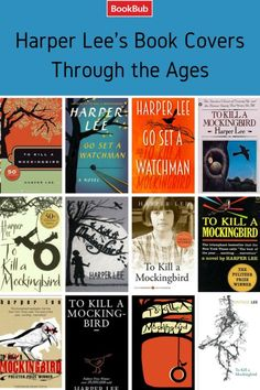 TO KILL A MOCKINGBIRD covers through the years