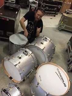 A Bif VG like to tune up a brand new Canopus drums kit at NEWLOC BACKLINE backline, backline rental, musical gear, musical instruments, vintage keyboards, vintage drums, drums, percussions, classical musical gear, synth, guitars,#backline