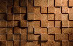 MOSAIC TRACE wood panels. Материалы: дуб, ясень, клен, ольха. Тип покрытия: тонировка / лак. Размеры: 420*420*35 мм. Чертежи панелей, 3D модели и удобный просчет стоимости на нашем сайте www.yourforest.com.ua