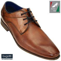 Bugatti férfi bőr félcipő 311-42004-4100-6300 konyak