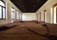 ai weiwei straightens 150 tons of steel rebar recovered from sichuan earthquake