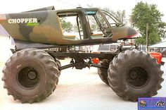 Monster truck pictures and information in a monster truck photo album which consists of over 850 full sized Monster truck Muddy Trucks, 4x4 Trucks, Diesel Trucks, Lifted Trucks, Ford Trucks, Chevrolet Trucks, Chevrolet Impala, 1957 Chevrolet, Redneck Trucks