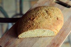 OVELHA ROSA na cozinha: Pão de Milho semi integral com Erva Doce