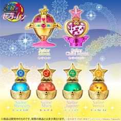 Sailor Moon Prism Power Dome Water Globes Collection set 1 : Rainbow Moon Chalice only (All my collection: https://www.facebook.com/prettygoodiessailormoon )