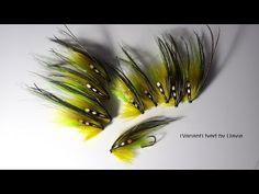 Tying The Olive Phantom Salmon Fly (Variant) by Davie McPhail - YouTube
