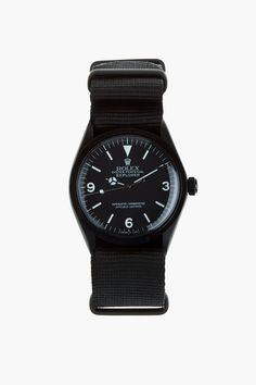 Black Limited Edition Matte Black Limited Edition Rolex Oyster Perpetual Explorer$22,500.00