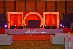 Bollywood Theme For Sangeet Night Decorated At The Ritz-Carlton, Bangalore Marriage Decoration, Outdoor Wedding Decorations, Backdrop Decorations, Outdoor Wedding Venues, Wedding Mandap, Hotel Wedding, Wedding Halls, Wedding Backdrops, Indian Wedding Theme