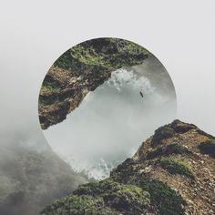 """Nouveaux paysages réfléchis par Victoria Siemer  """"Paysages naturels fracturés à…"""