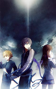 Yato, Yukine, & Hiyori   Noragami