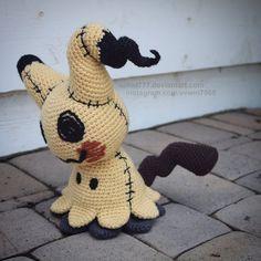 21 Ideas for crochet amigurumi pokemon deviantart Kawaii Crochet, Cute Crochet, Crochet Crafts, Crochet Dolls, Yarn Crafts, Knit Crochet, Fabric Crafts, Pokemon Crochet Pattern, Amigurumi Patterns