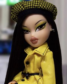 Image may contain: 1 person, closeup Bratz Doll Makeup, Bratz Doll Outfits, Black Bratz Doll, Brat Doll, Personajes Monster High, Bratz Girls, Cute Profile Pictures, Black Girl Art, Creepy Dolls