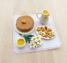 Pancakes and Cookies Handmade Dollhouse♡♡