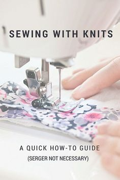 Sewing With Knits – McCall's Wrap Dress Sewalong