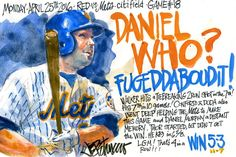 Mets Walker Homers Daniel Who (art by Joe Petruccio)