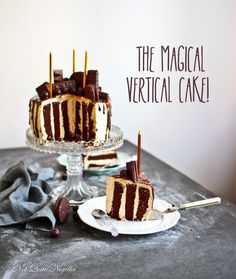 Vertical Cake Recipe (basically jsut a giant swiss roll on its side)