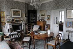 Emery Walker's Dining Room