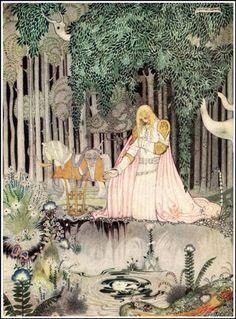 Kay Nielsen's Stunning 1914 Scandinavian Fairy Tale Illustrations | Brain Pickings