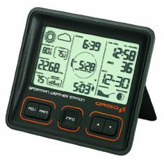 Origo Sportsman's Weather Station Watch by Origo. $82.80. Weather Forecast prediction and Icon. Easy to read Display with all essential information. Alarm setting for Next Best Hunting Time. Sunrise/Sunset Data, Moon Phase. Best Hunting Time/Best Fishing Time (mode selection by user). The new Sportsman's Weather Station from Origo shows Best Hunting Time / Best Fishing Time (mode selection by user) on an easy to read display with all essential information. T...