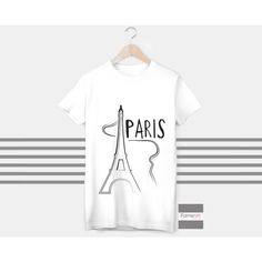 T shirt Bonjour Paris Eiffel Tower T shirt for Men and Women Famenxt (1,945 INR) ❤ liked on Polyvore featuring men's fashion, men's clothing, men's shirts, men's t-shirts, mens short sleeve cotton shirts, mens patterned t shirts, mens patterned shirts, mens cotton shirts and mens leopard print t shirt