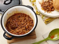 Spicy Pop Pulled Pork recipe from Ree Drummond via Food Network