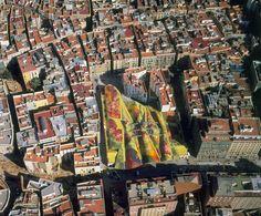 Santa Caterina Market © Ceramica Cumella. Barcelona, Catalonia. Enric Miralles 1997-2005
