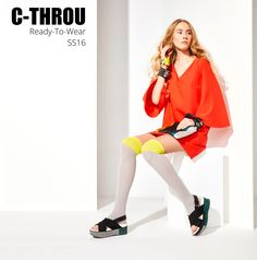 C-THROU Luxury Fashion | Editorial - Campaign Spring Summer 2016. C-THROU Luxury Fashion the high fashion brand of women's clothing and accessories. ShopNow