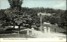 1910 Forest Rose Cemetery Entrance