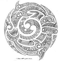 In Maori moko style by ~Milanthis on deviantART