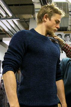Charlie Hunnam's Fitting for Pacific Rim