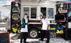 New food truck - Stacey's 5 Dollar Hollar. ** HAHAHAHA 5 dollar hollar! Get your street meat here. Lol