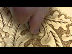 how to tool Bruce Cheaney Custom Saddlemaker Tooling Leather