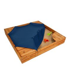 Loving this Backyard Sandbox on #zulily! #zulilyfinds