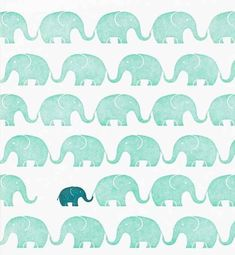 Elephant friends | 15 Beautiful iPhone Wallpaper Ideas From Pinterest