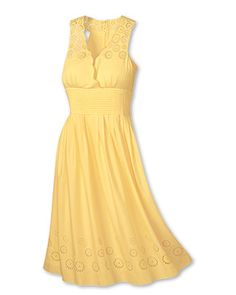 Cute yellow Sundresses for Women | All Fashion Show Trendy: sun dresses