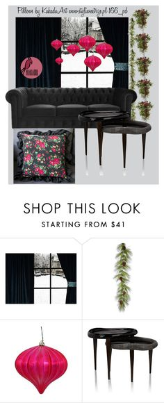 Styling Idea by kakaduart on Polyvore featuring interior, interiors, interior design, dom, home decor, interior decorating and Ginger Brown, cushions and pillows by KakaduArt