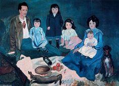 'La familia Soler', oleo de Pablo Picasso (1881-1973, France)
