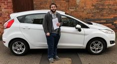 """""""Had no problems, everyone I spoke to was friendly and professional and now I've got a Fiesta that I'm perfectly happy with! Would recommend these guys to anyone."""" - Ryan G. Ryan and his new Ford Fiesta! Enjoy the Free road tax 👍🚘💰 Free Cars, Cars For Sale, Derby, Ford, Guys, Vehicles, Happy, Cars For Sell"""