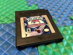 WORKS PERFECT NINTENDO GAMEBOY COLOR POKEMON TRADING CARD GAME CARTRIDGE USA GBA
