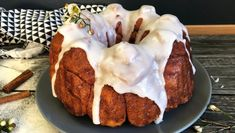 Monkey bread – cake with sugar and cinnamon – Oppskrifters Monkey Bread, Ciabatta, Different Recipes, Beautiful Cakes, Deserts, Ice Cream, Pudding, Sweets, Sugar