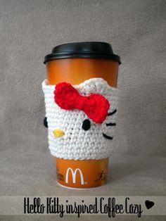 Hello Kitty Coffee Cozy. OMG sooooooooooooooooooooooooooooooooooooooooooooooooooooooooooooooooooooooooooooooooooooooooooooooooooooooooooooooooooooooooooooooooooooooocute!