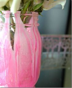 Marble Look Painted Mason Jar