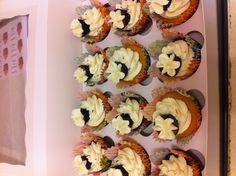 Cupcake topped cupcake.