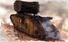191711 Mark IV Female Cambrai - Peter Sarson
