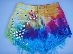 Love these! rainbow with studs!