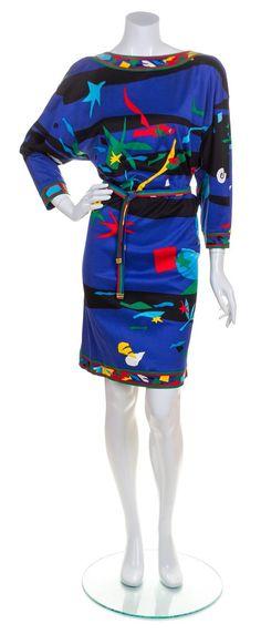 A Leonard Multicolor Dress,