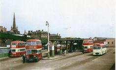 Old Barnsley bus station Barnsley South Yorkshire, Bus Station, Local History, Back In Time, Old Photos, Countryside, Britain, Places To Visit, Buses