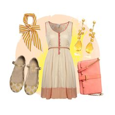 """""""Rose and Gold - Spring"""" by goldkehlchen on Polyvore"""